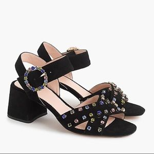NEW J. Crew Suede Penny Sandals